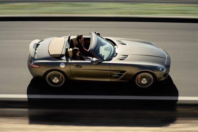 The Mercedes-Benz SLS AMG Roadster (R 197)