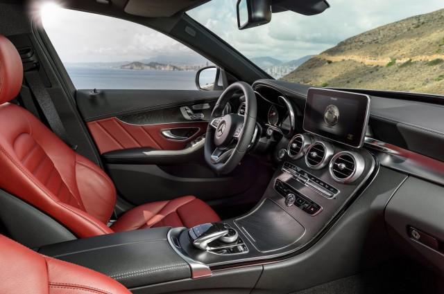 2015 Mercedes-Benz C-Class.